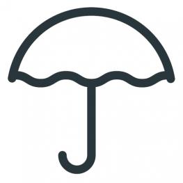 Icon Regenschirm