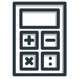 Icon Taschenrechner.