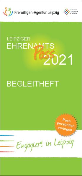 Begleitheft zum Ehrenamtpass 2021der Freiwilligen-Agentur