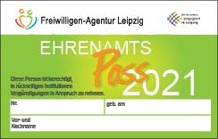Ehrenamtspass 2021 der Freiwilligen-Agentur